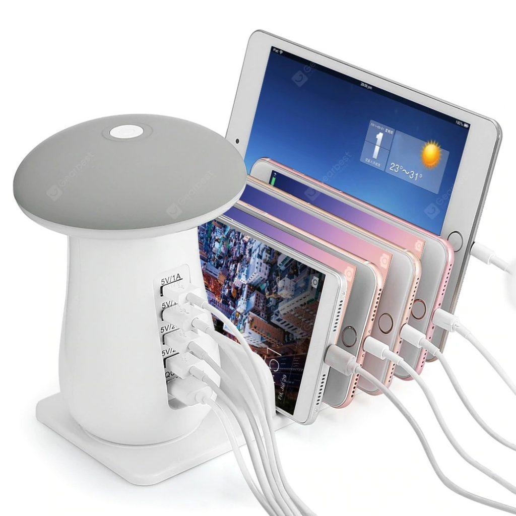 쿠폰, gearbest, Utorch Q5 다용도 USB 충전 홀더