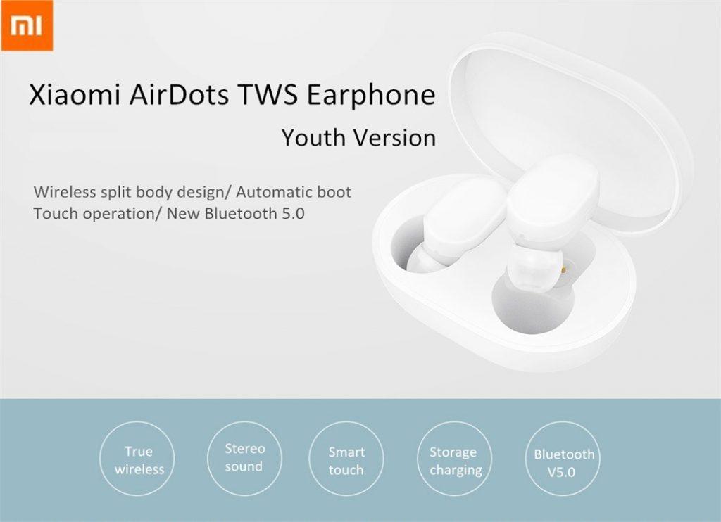 coupon, gearvita, Xiaomi Airdots TWS Bluetooth 5.0 Earphone Global Version