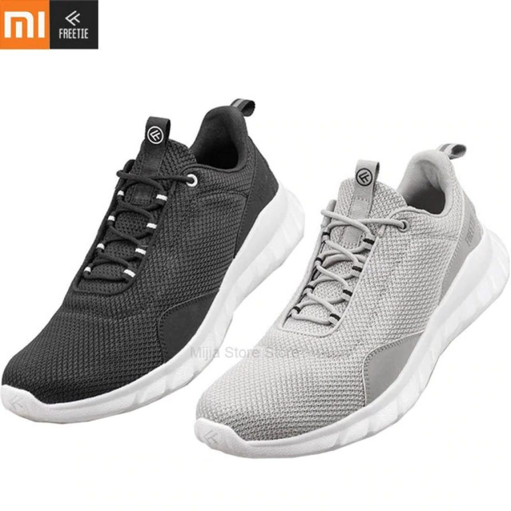 coupon, banggood, Xiaomi FREETIE Sneakers Men Light Sport Running Shoes Breathable Soft Casual Fashion Shoes