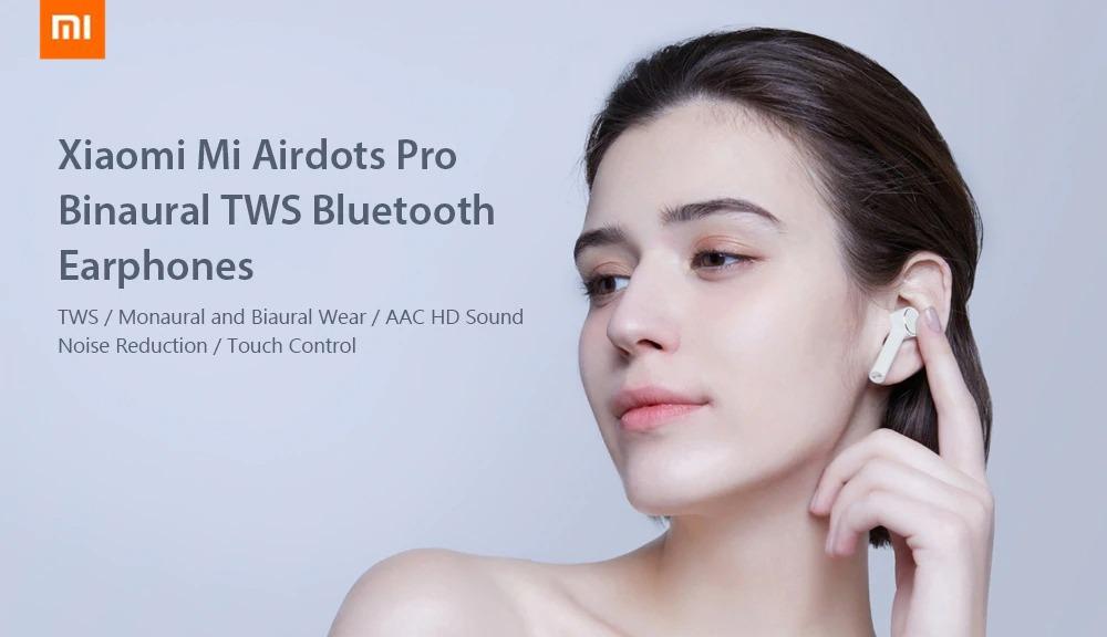 56 With Coupon For Xiaomi Mi Airdots Pro Tws Bluetooth
