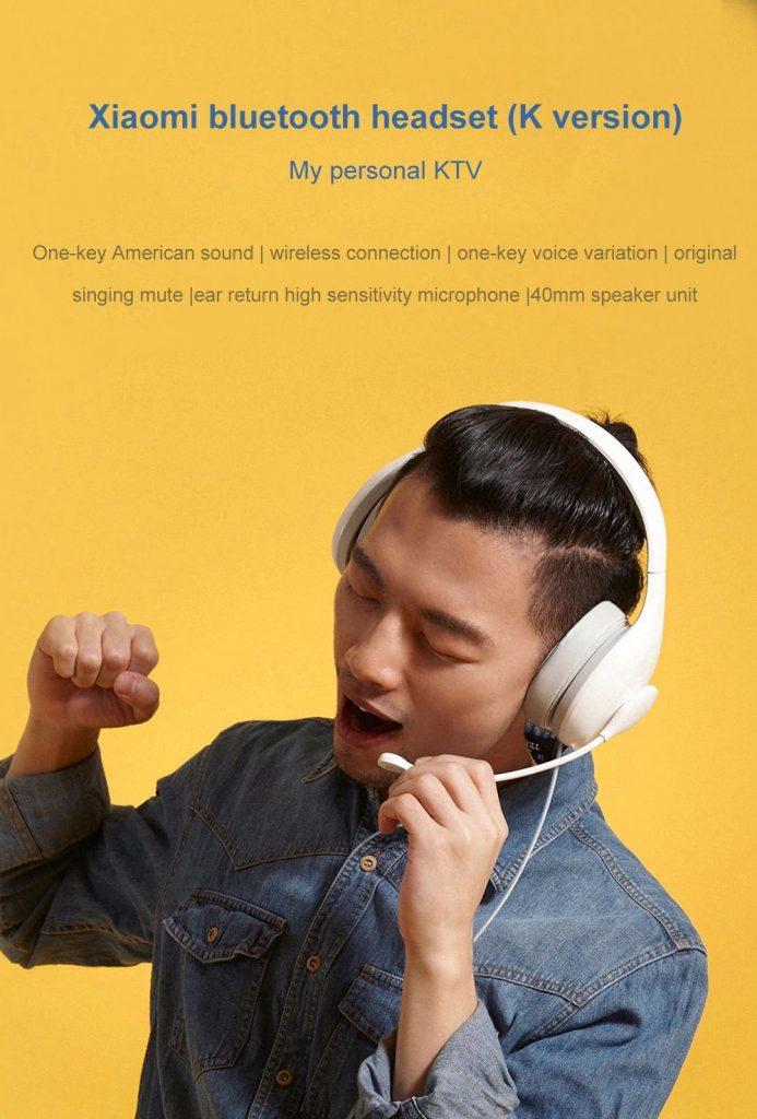 coupon, gearvita, Xiaomi Mi Bluetooth Headphone Karaoke Version Noise Cancellation