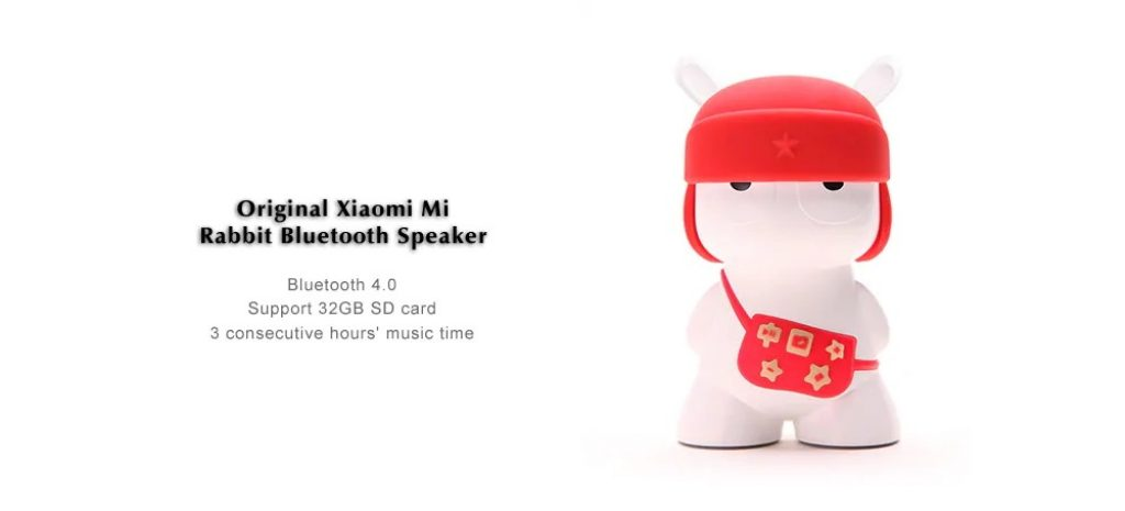 coupon, gearvita, Xiaomi Mi Rabbit Bluetooth 4.0 Wireless Speaker