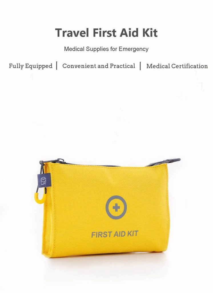 coupon, gearvita, Xiaomi Mijia Mini First Aid Kit Medical Survival Bag