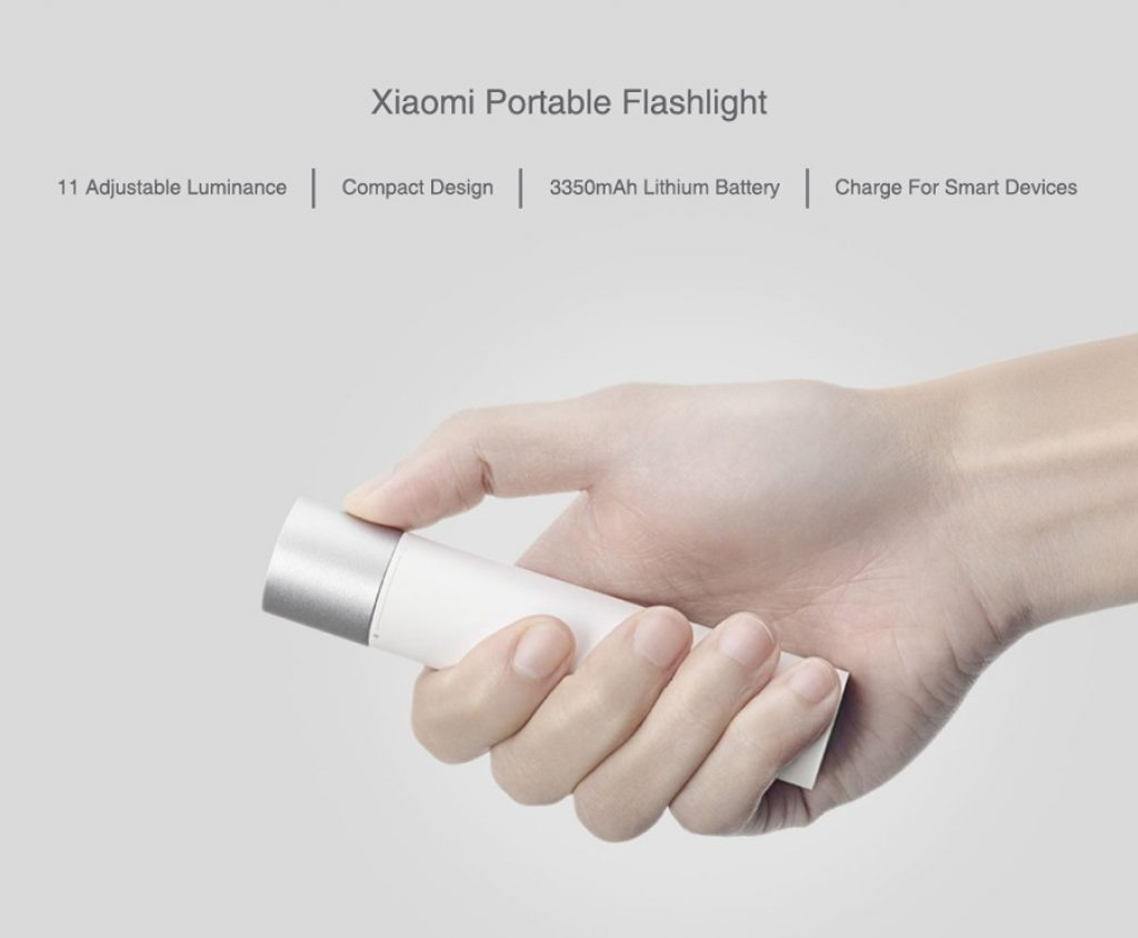 coupon, gearvita, Xiaomi Minimalist Portable Flashlight