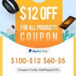 banggood paypal, coupon, promotion, sale