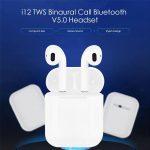 coupon, gearbest, i12 TWS Binaural Call Bluetooth V5.0 Headset