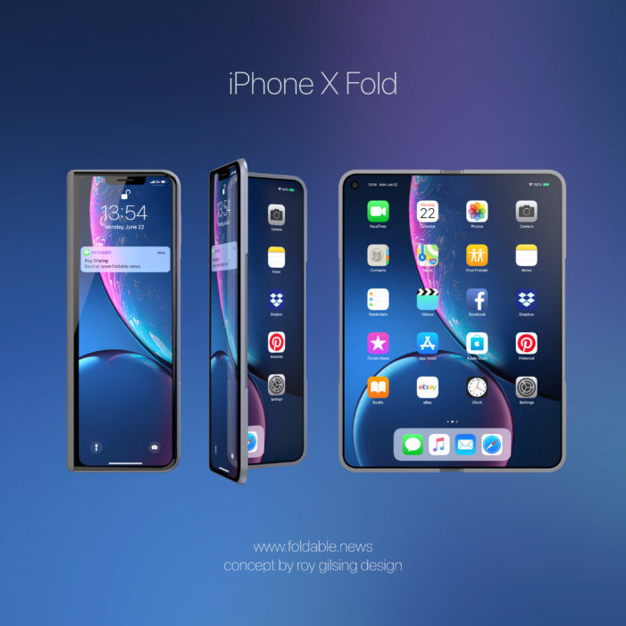 Folding Display iPhone