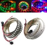 coupon, banggood, 1M WS2812B 5050 RGB Changeable LED Strip Light 144 Leds Non-waterproof Individual Addressable 5V