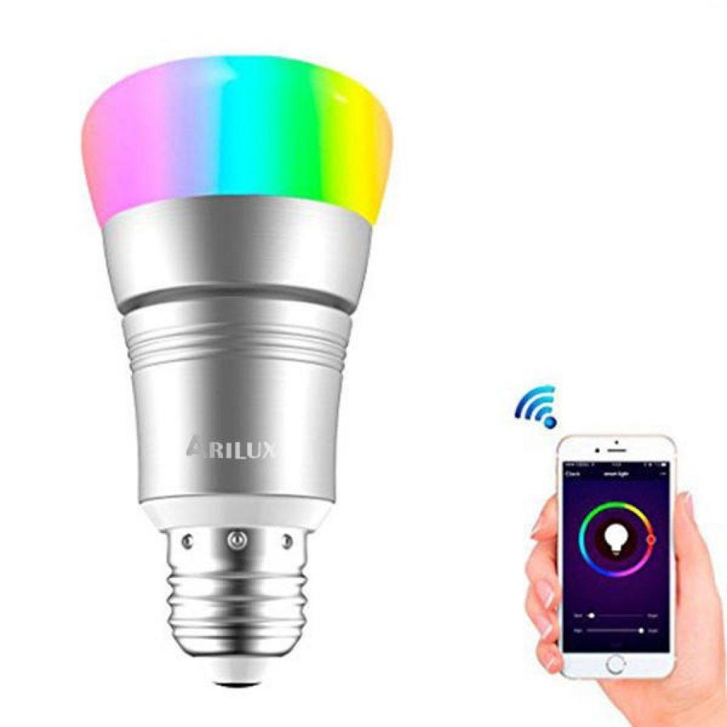 coupon, banggood, ARILUX® E27 7W RGBW WIFI Timing APP Control LED Smart Light Bulb
