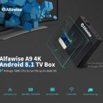 coupon, gearbest,Alfawise A9 4K Amlogic S905 Android 8.1 TV Box