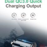 coupon, gearvita, Baseus BS-C16Q1 30W QC3.0 Dual USB Car Charger