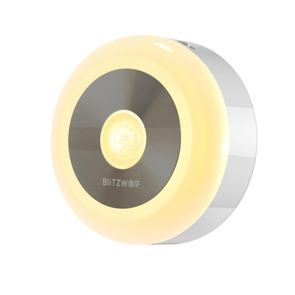 coupon, banggood, BlitzWolf® BW-LT15 LED Motion & PIR Infrared Sensor Night Light