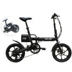 kupon, banggood, CMSBIKE F16 Extra Battery Set 36V 7.8AH 250W Black 16 Pulgada Folding Electric Bisikleta