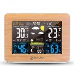 DIGOO DG-EX002 Wood Grain Color Screen Weather Station, COUPON, BANGGOOD
