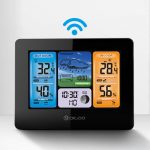 Digoo DG-EX001 WIFI APP Smart Weather Station Wireless Color Screen Temperature Humidity Outdoor Sensor Thermometer Hygrometer Weather Forecast Moon Phase, COUPON, BANGGOOD