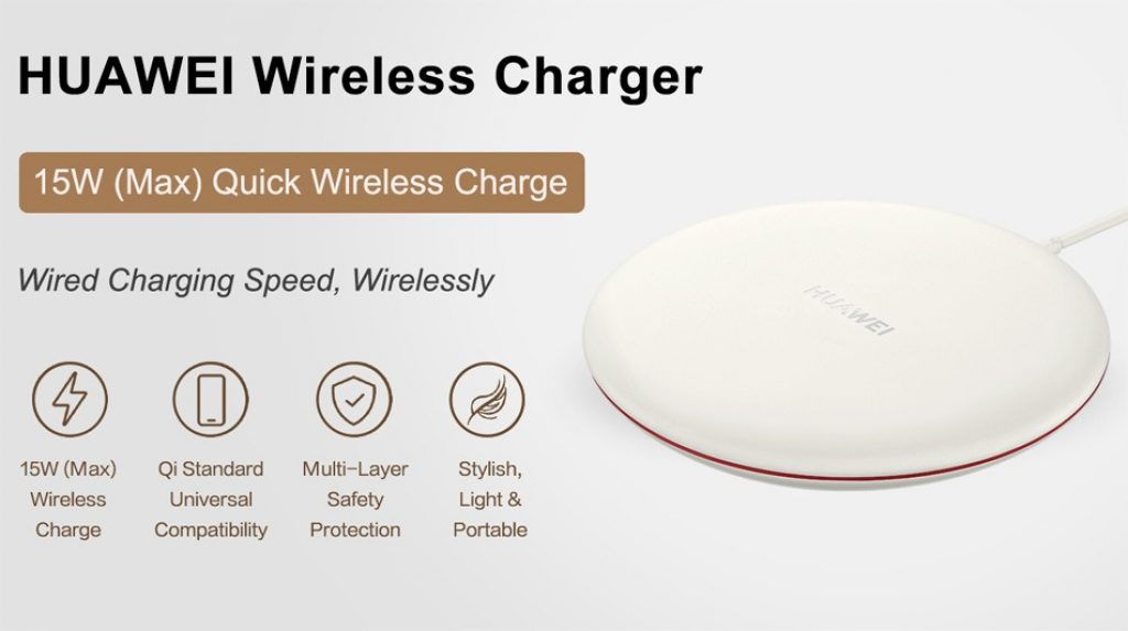 coupon, gearvita, Huawei CP60 Wireless Charger 15W