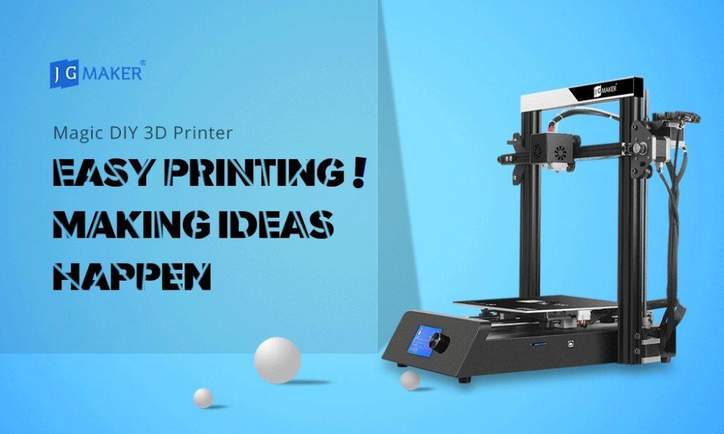 coupon, gearbest, JGAURORA JGMAKER Magic High Precision 3D Printer