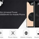 coupon, gearbest, K2 Ultra-thin Universal Power Bank 20000mAh