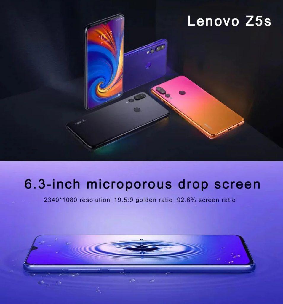 banggood, gearbest, phiếu giảm giá, gearvita, điện thoại thông minh Lenovo Z5s 4G