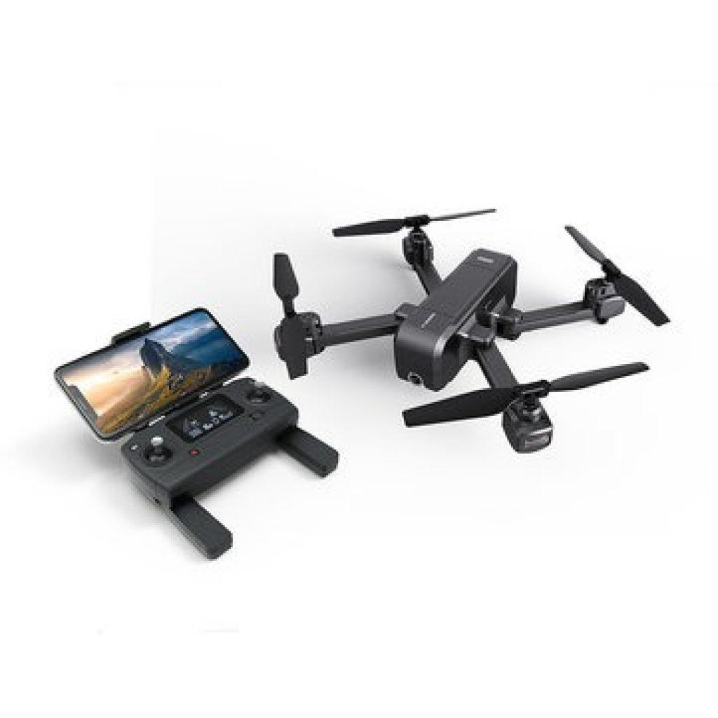 MJX X103W WIFI FPV FPV với máy ảnh 5K GPS theo tôi có thể gập lại RC quad RTF - Ba pin, COUPON, BANGGOOD