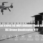 phiếu giảm giá, gearbest, MJXR C Technic X104G WiFi 5G Độ cao Giữ GPS RC Drone Drone RTF