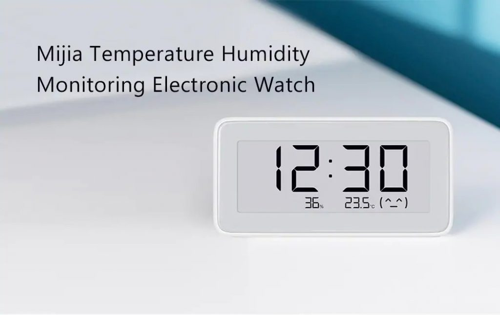 coupon, gearbest, Mijia Temperature Humidity Monitoring Electronic Watch