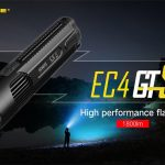 Coupon, gearbest, Nitecore EC4GTS Tragbare super helle LED-Taschenlampe