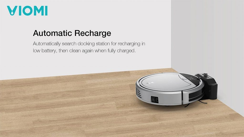Original Xiaomi VIOMI Smart 11 Sensors Automatic Recharge Remote Control Planning Route Robot Vacuum Cleaner, COUPON, BANGGOOD