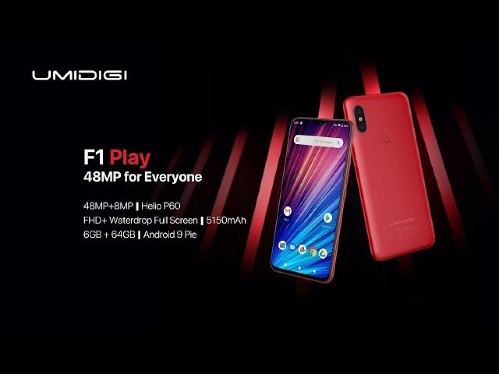 קופון, בנג'מין, UMIDIGI F1 שחק אנדרואיד 9.0 להקות עולמיות Smartphone