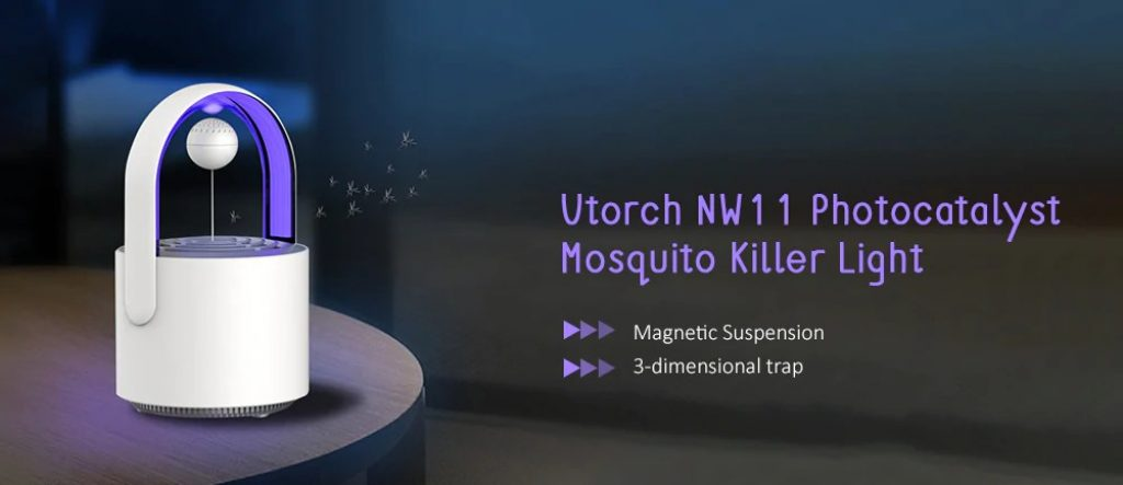 coupon, gearbest, Utorch NW11 Photocatalyst Portable Mosquito Killer Light