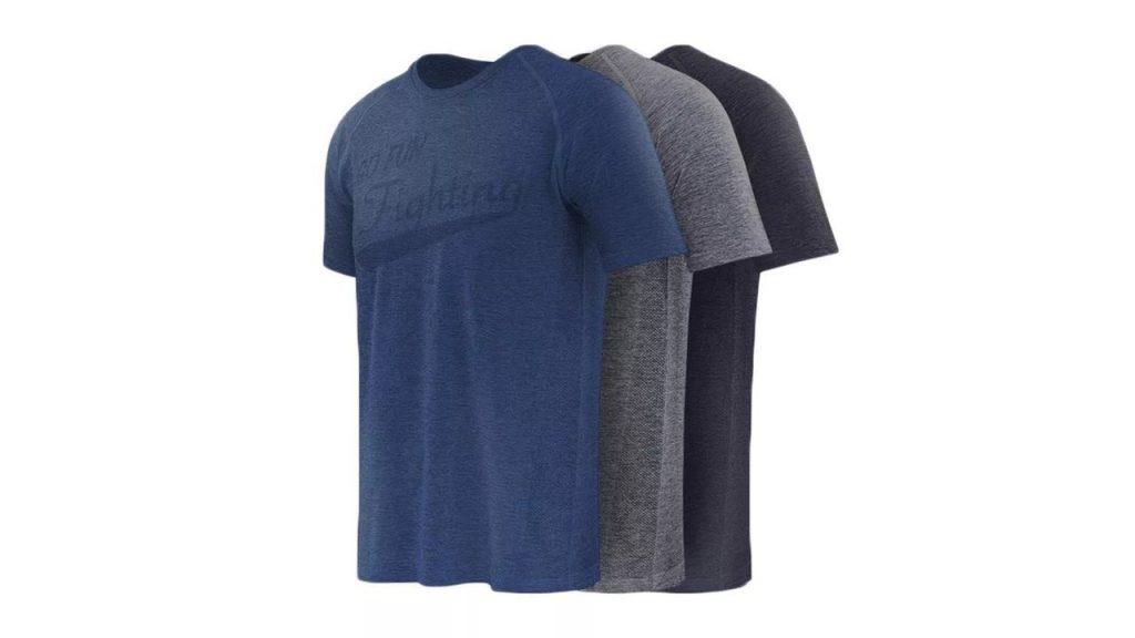 coupon, banggood, XIAOMI 90 FUN Quick-Dry Short Sleeve T-Shirt Fitness Sports Cycling Casual Breathable T-Shirts