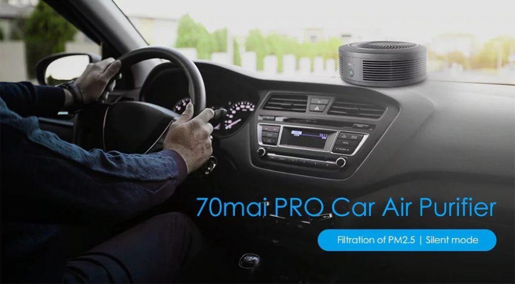 Phiếu giảm giá, gearvita, Máy lọc không khí ô tô Xiaomi 70mai PRO
