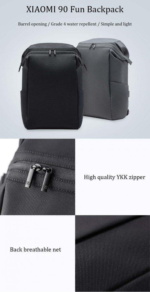 coupon, gearvita, Xiaomi 90 FUN 15.6 Inch Portable Laptop Backpack