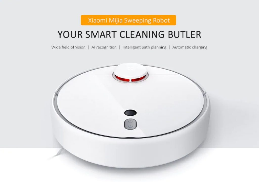 banggood, coupon, gearbest, Xiaomi Mijia 1S Smart Sweeping Robot