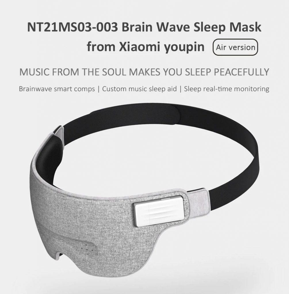 קופון, gearvita, Xiaomi NT21MS03-003 אייר המוח גלי שינה סיוע לעין מסכה