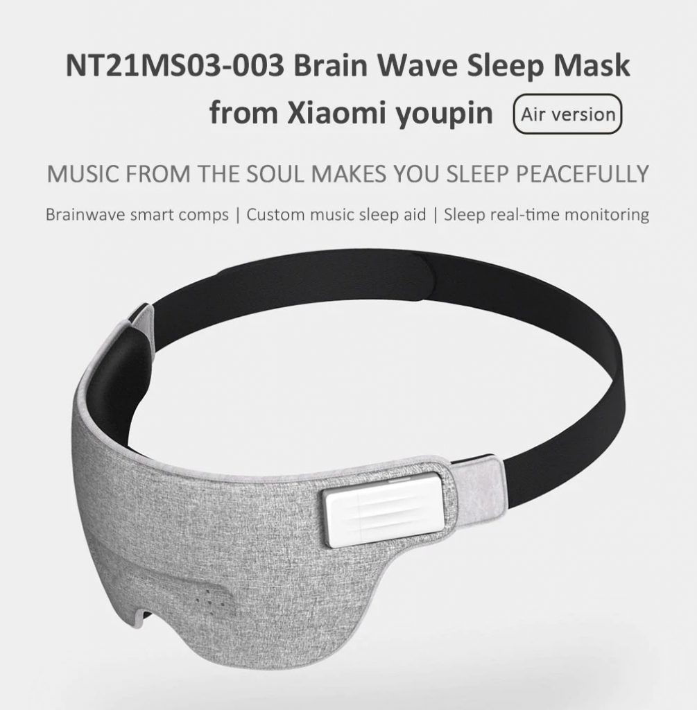 kupon, gearvita, Xiaomi NT21MS03-003 Air Brain Wave Sleep Aid Eye Mask