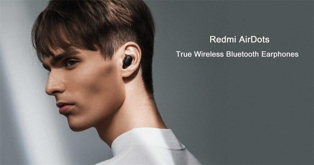kupón, převodovka, Xiaomi Redmi AirDots TWS Bluetooth 5.0 Sluchátka