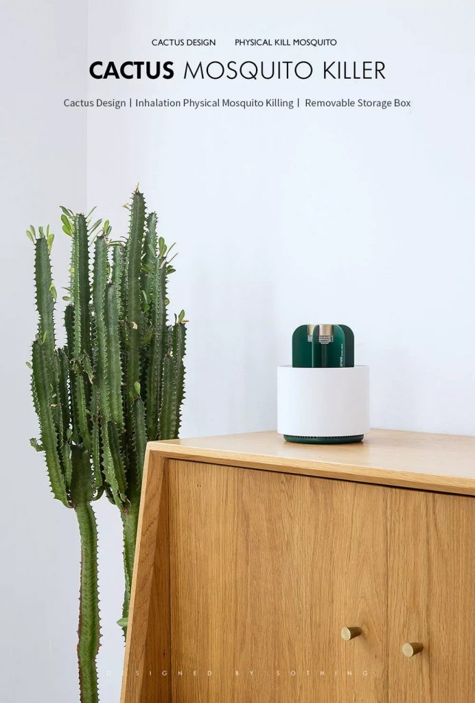coupon, banggood,, Xiaomi Sothing Cactus Mosquito Killer Light