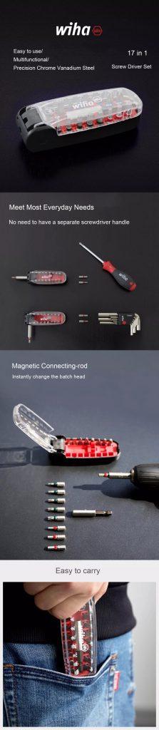 Xiaomi Wiha 17 trong bộ tua vít sử dụng hàng ngày 1