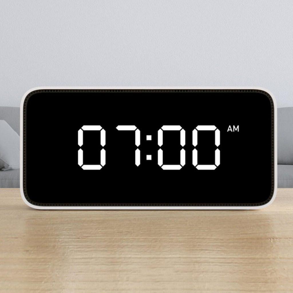 Xiaomi Xiaoai Smart Voice APP Control Weather Broadcast Alarm Clock Xiaomi AI Speaker, COUPON, BANGGOOD