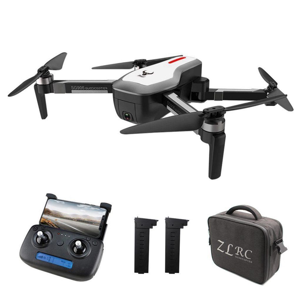 Kupon, banggood, ZLRC Canavar SG906 GPS 5G WIFI Ile 4G WIFI FPV Ultra net Kamera Fırçasız Özçekim Katlanabilir RC Drone Quadcopter RTF