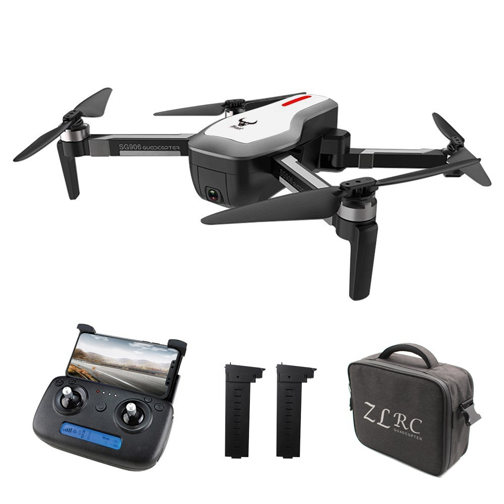 afb79ae042156 €119 with coupon for ZLRC Beast SG906 GPS 5G WIFI FPV With 4K Ultra clear  Camera Brushless Selfie Foldable RC Drone Quadcopter RTF from BANGGOOD