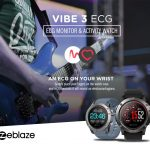 coupon, gearvita,Zeblaze VIBE 3 ECG Sports Smartwatch Bluetooth 4.0