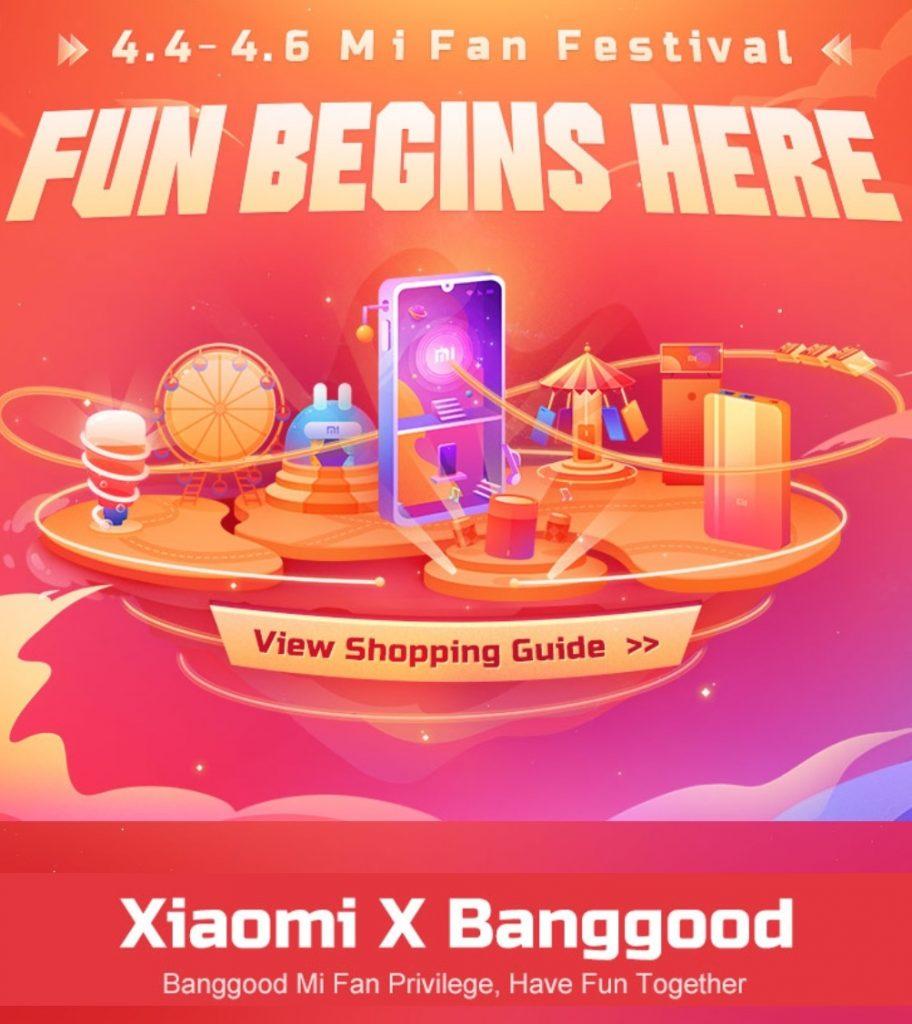coupon, banggood, mi fan festival xiaomi banggood