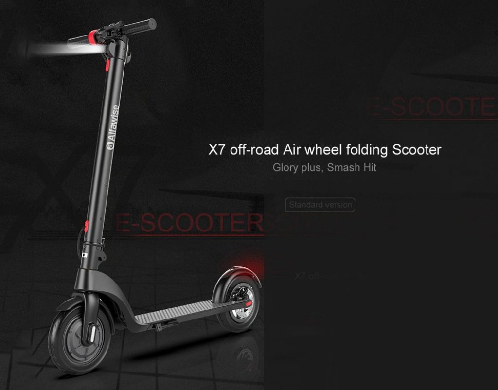 coupon, gearbest, Alfawise X7 Folding Electric Scooter