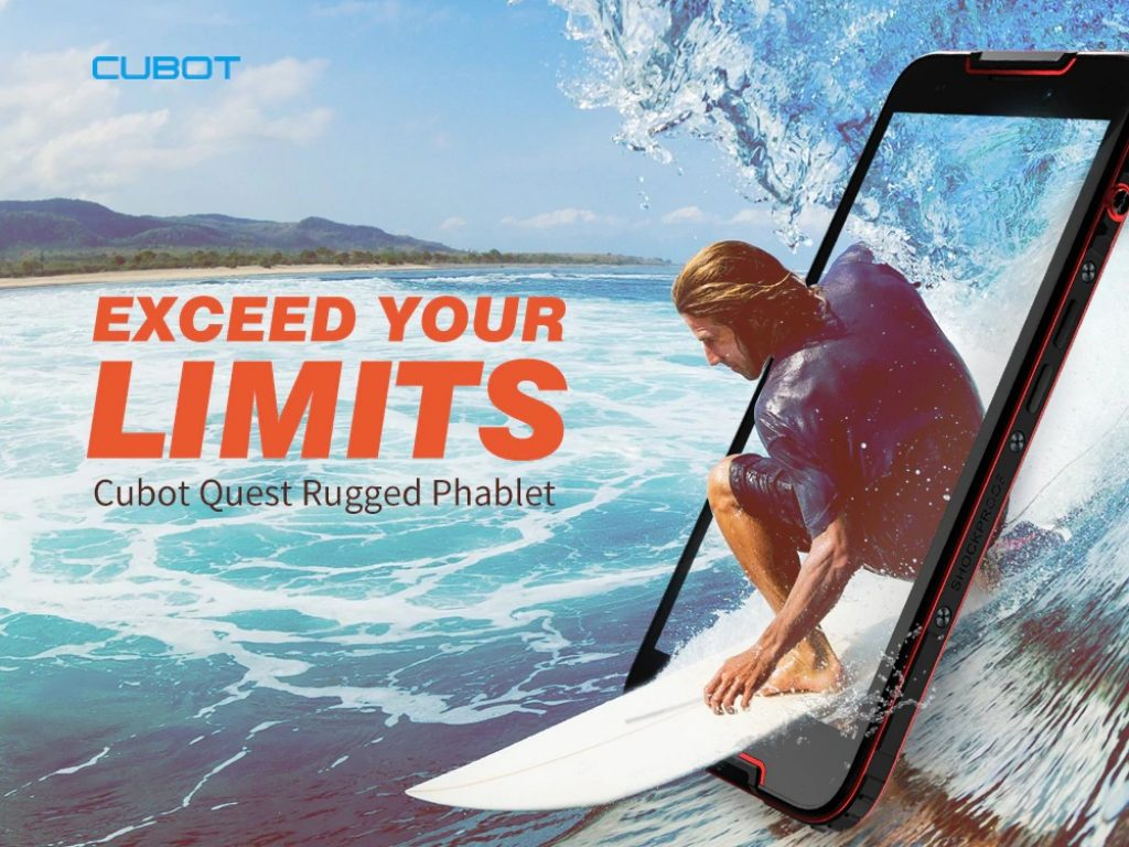 coupon, gearbest, Cubot Quest 5.5 inch 4G Sports Phablet Rugged Smartphone