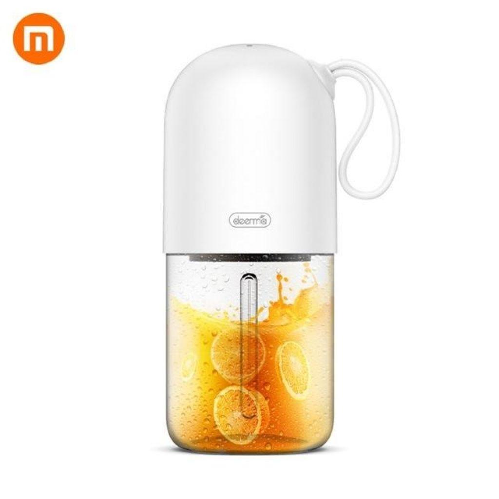 Deerma DEM-NU01 Portable Mini Fruit Juicer Kitchen Electric Mixer Mini Capsule Shape Powerful Electric Juice Cup From XIAOMI Youpin, COUPON, BANGGOOD