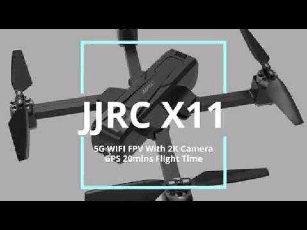 κουπονιού, banggood, JJRC X11 5G WIFI FPV με κάμερα 2K GPS 20mins Χρόνος πτήσης Αναδιπλούμενο RC Drone Quadcopter RTF