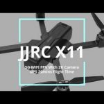 geekbuying, κουπόνι, banggood, JJRC X11 5G WIFI FPV Με κάμερα 2K GPS 20 λεπτά Χρόνος πτήσης Πτυσσόμενο RC Drone Quadcopter RTF