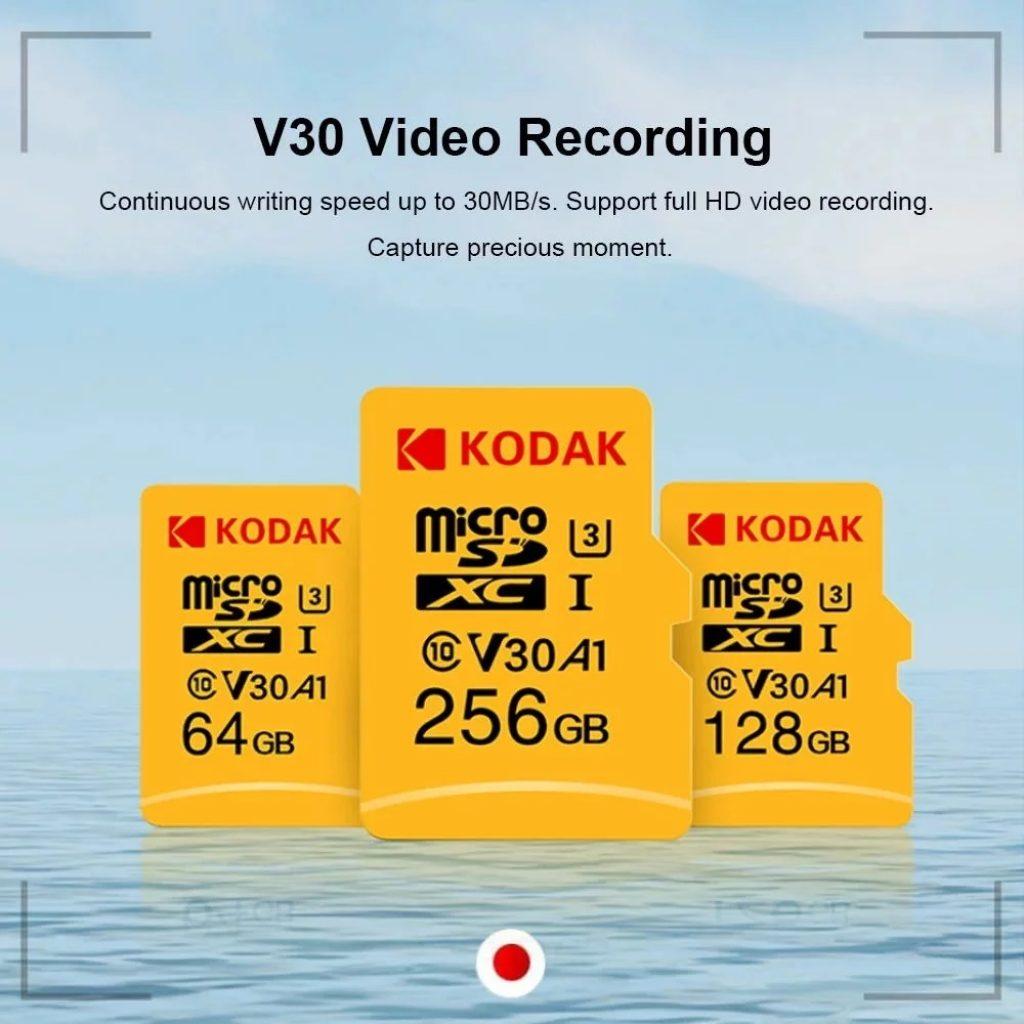 coupon, gearvita, Kodak U3 A1 V30 Micro SD